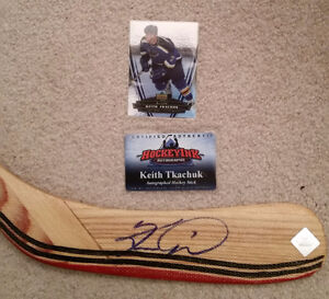 Lowered prices - signed Hockey sticks,Tavares,Tkachuk,Vokoun Kitchener / Waterloo Kitchener Area image 1