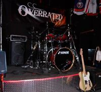 The band Overrated taking bookings