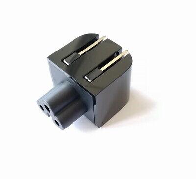 Power AC Adapter Folding 3 Pin Plug to 2 Pin Plug For HP 65W 45w USB-C (65w Ac Adapter 2 Pin)