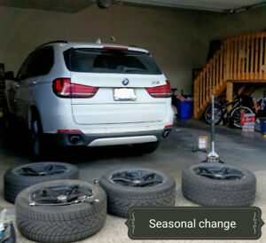 TIRES CHANGE, BALANCE,REPAIR MOBILE SERVICES AT YOUR PLACE