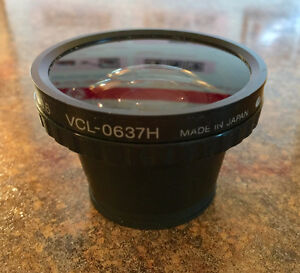 SONY Wide-Angle Conversion Lens, 0.6x, 37mm diameter (VCL-0637H)