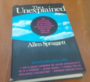 The Unexplained, Allen Spraggett, 1967 Kitchener / Waterloo Kitchener Area image 1