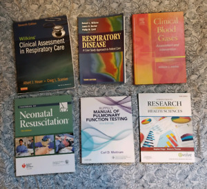 Respiratory therapy textbook