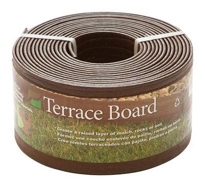 Terrace Board - Master Mark  Terrace Board  4 in. H x 20 ft. L Brown  Plastic  Lawn Edging