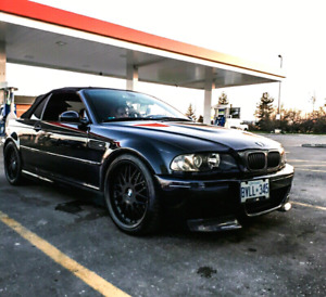 CLEAN LOW KM 2004 BMW M3 Manual 6 Speed Convertible