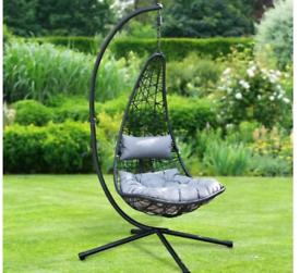 Alfresco New York Hanging Garden Swing Chair. Brand New in box