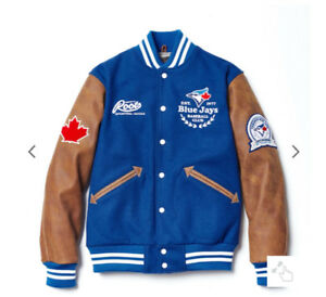 Roots Toront Blue Jays 40th Anniversary Varsity Jacket
