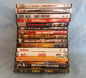 31 Various Dvds