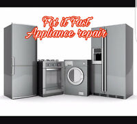 Fix it Fast Appliance Repair (Same day service)