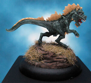 Painted-Chainmail-Miniature-Crested-Felldrake