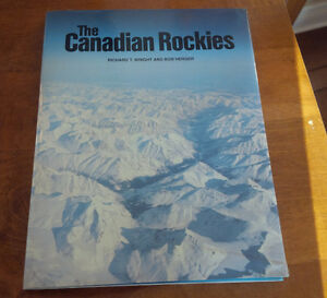 The Canadian Rockies, Richard T. Wright & Bob Herger 1981 Kitchener / Waterloo Kitchener Area image 1