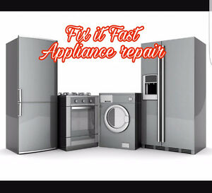 Fix it Fast Appliance Repair- same day service Kitchener / Waterloo Kitchener Area image 1