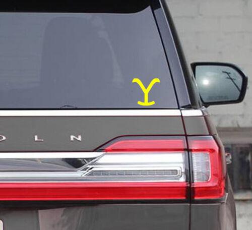 "Yellowstone TV Series 4"" sticker"