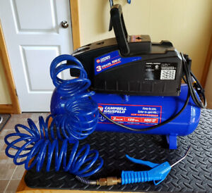 Campbell Hausfield 3Gal 100 PSI Air Compressor Mint Condition