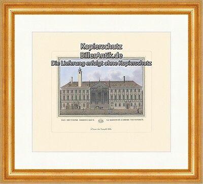 Das Deutsche Ordens Haus K&K Deutscher Ritterorden Singerstraße Barock PW 058