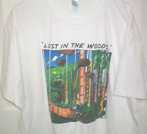 Lost in the Woods Golf Novelty Size XL T Shirt London Ontario image 1