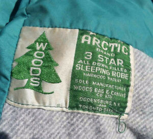 Woods Artic Brand 3 Star All Down Filled Sleeping Robe