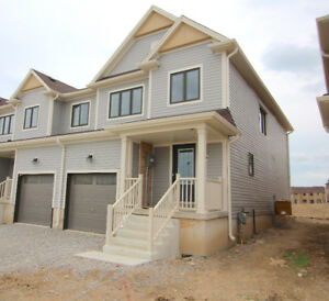 Brand new end unit 3 bdrm townhome for rent - Caledonia