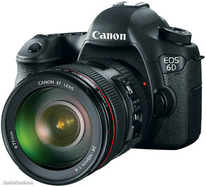 Canon 6D with 24-105 f4.0 L and 17-40 f4.0 L lenses $2800 obo