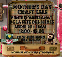 Mother's Day Craft Sale/  Artisanat Vente notre Mère