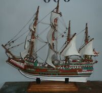 "Handbuilt ""Spanish Galleon"" Ship"