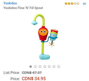 Yookidoo  bath tub toy