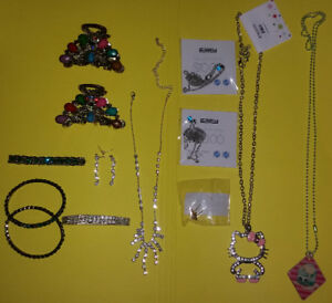 Fashion/Bling Jewelry and Hair Clips Lot (Take all for $20)