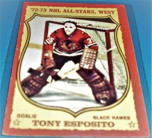 72-73  NHL ALL-STARS, WEST TONY ESPOSITO