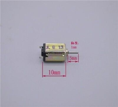 5pcs K10 Micro Motor Dc1.5-3v Model Motor High-speed Motor 19000-32000rpm