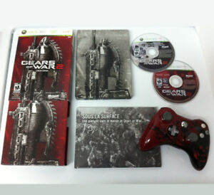 XBOX 360 GEARS OF WAR 2 LIMITED EDITION - RARE!