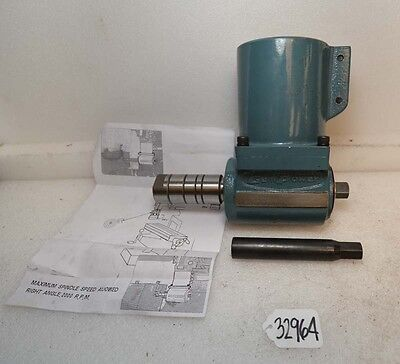 Gem Power Right Angle Attachment For Bridgeport Mill R8 Inv.32964
