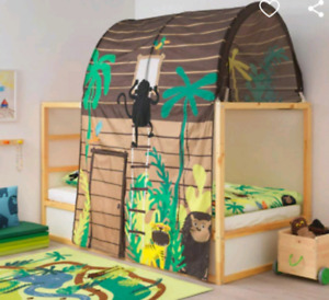 Kura Ikea reversible children's bed with canopy