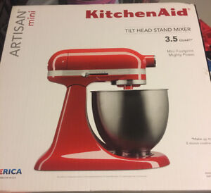 Kitchen aid artisan mini 3.5 quart