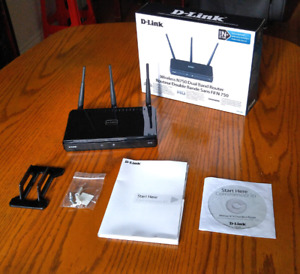 D-LINK Wireles N750 Dual Band Router