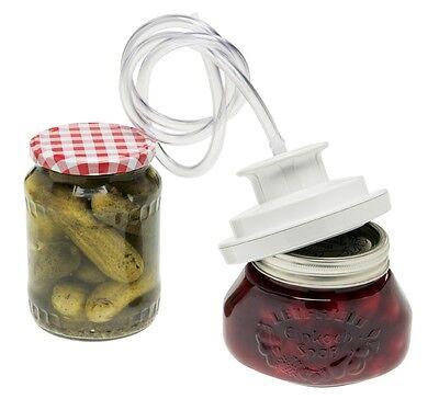 Lava Vakuumglocke für Gläser Twist-Off Einmachgläser einwecken einkochen