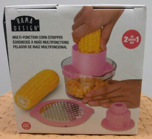 New Corn Stripper Cob Peeler Kitchen Tool Cutter Kernel Remover