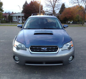 SUBARU OUTBACK XT AWD TURBO