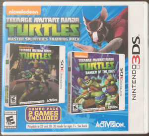 Teenage Mutant Ninja Turtles Master Splinter's Training- Nintend