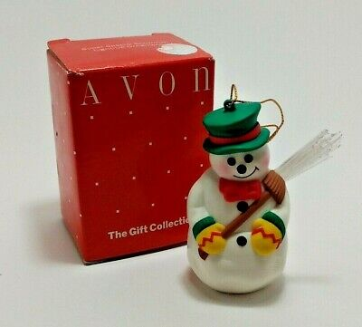 Vintage Avon Super Special Snowman Light-Up Ornament - Avon: The Gift Collection