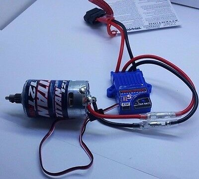 NEW TRAXXAS iD WATERPROOF XL-5 ESC TITAN MOTOR LVD ID PLUG NEWEST MODEL STAMPEDE