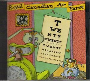 Royal Canadian Air Farce - Twenty Twenty (1973-1993) CD West Island Greater Montréal image 1