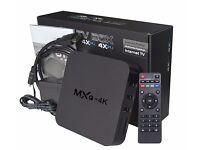 ANDROID MXQ 4K KODI TV BOX FOR SALE