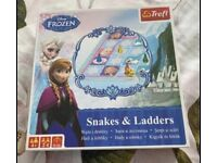 Frozen snakes and ladders