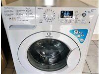 Indesit 9kg Wash Load, 1600 RPM Spin, A++ Energy Rating.