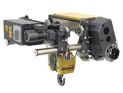 10-ton Overhead Crane Complete Kit By Street Crane - 57 Ft Max Span Vfd Control