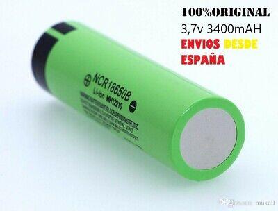 PILA RECARGABLE 18650 3400mAh Li-ion 3,7V Litio Batería