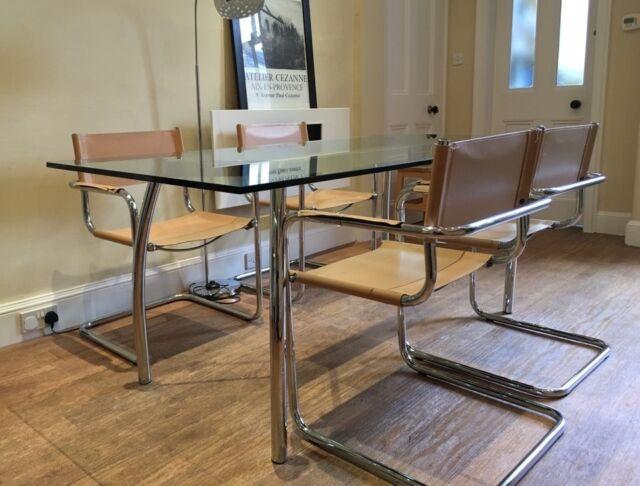 Gl Dining Table 4 Chairs In Bauhaus Design Marchmont Edinburgh Gumtree