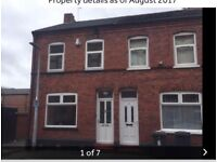 2 bed end Terrace house , camm street crewe cw2