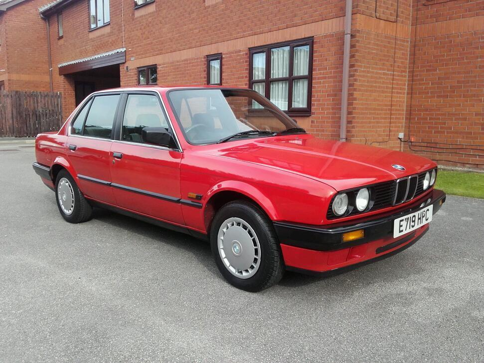 Rare Classic 1988 Bmw E30 316 1 8 Manual Petrol 4 Door