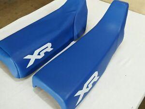 HONDA XR200R HONDA XR250R 1984 AND 1985  MODEL SEAT COVER BLUE (H269--n7)